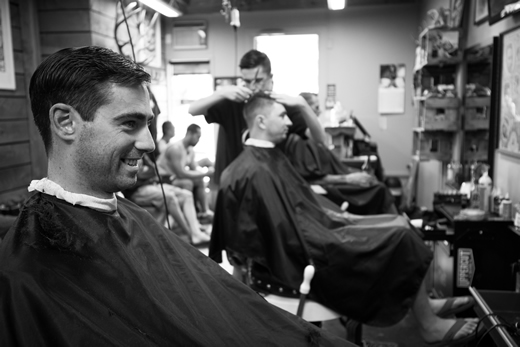 Barber Shop for your Wanaka Wedding