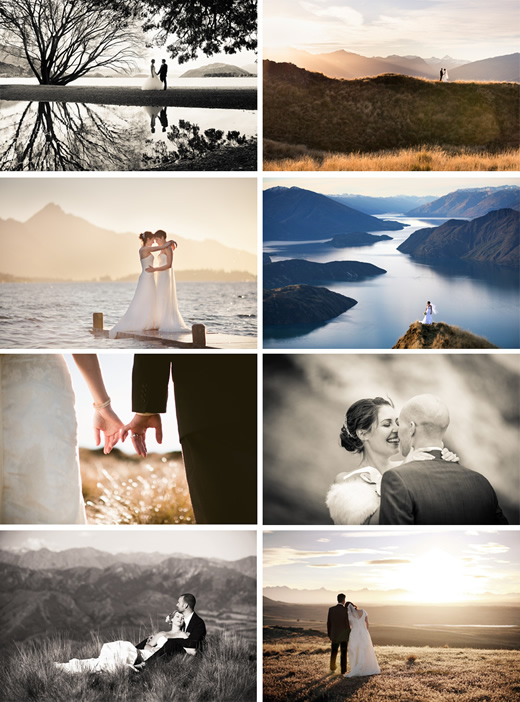 Gorgeous wedding photos of your Wanaka wedding