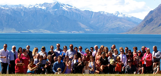Photos from the Lake Hawea wedding venue