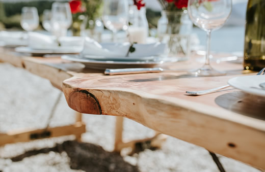 Wedding Tables from the Rustic Rabbit