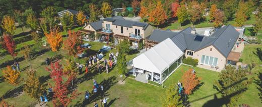 Maple Lodge for your Wanaka Boutique Wedding