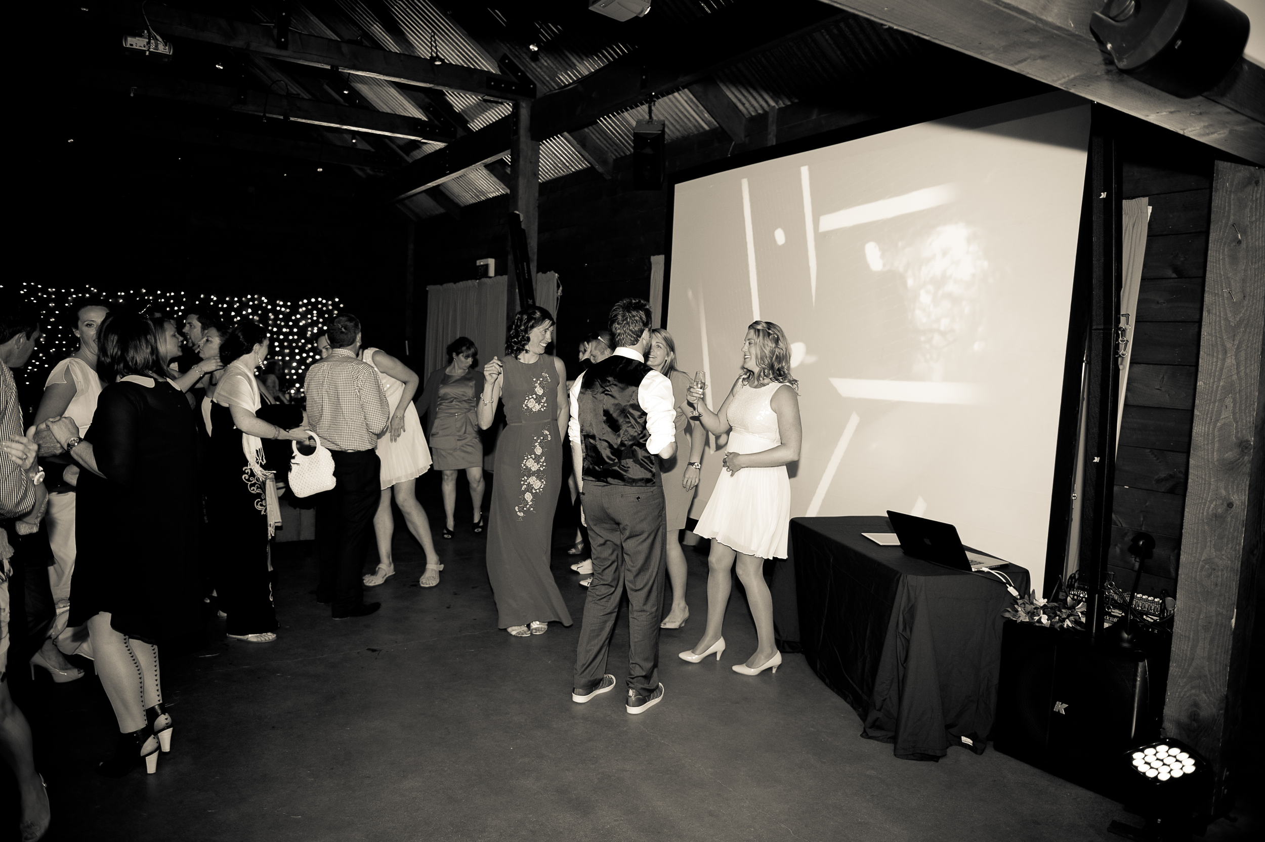 Entertainment Solutions - sound and lighting for Wanaka Weddings