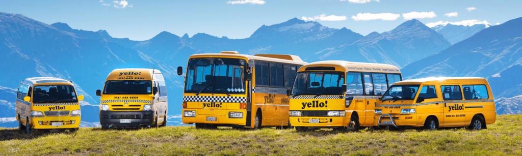 yello taxis - Wanaka wedding transport