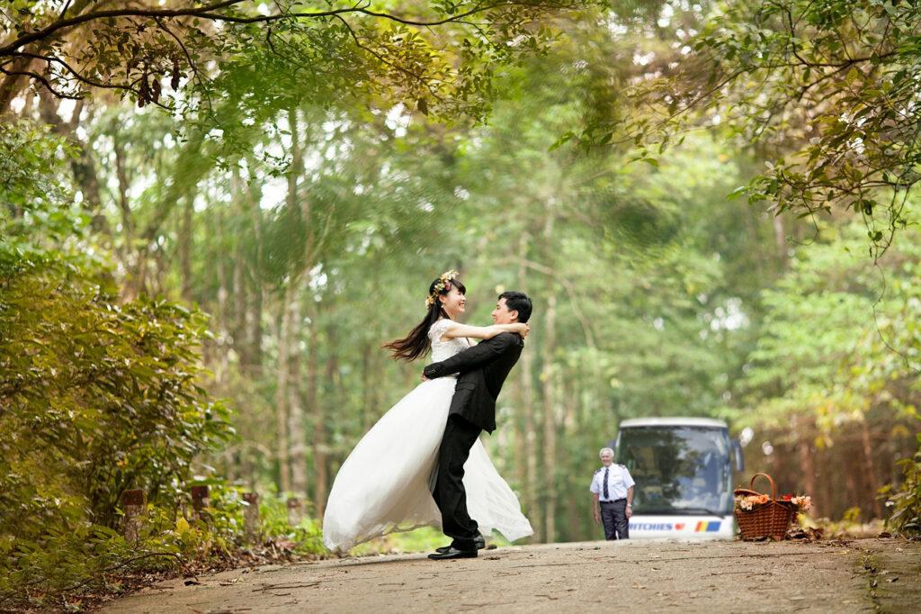 Ritchies - Wanaka wedding transport