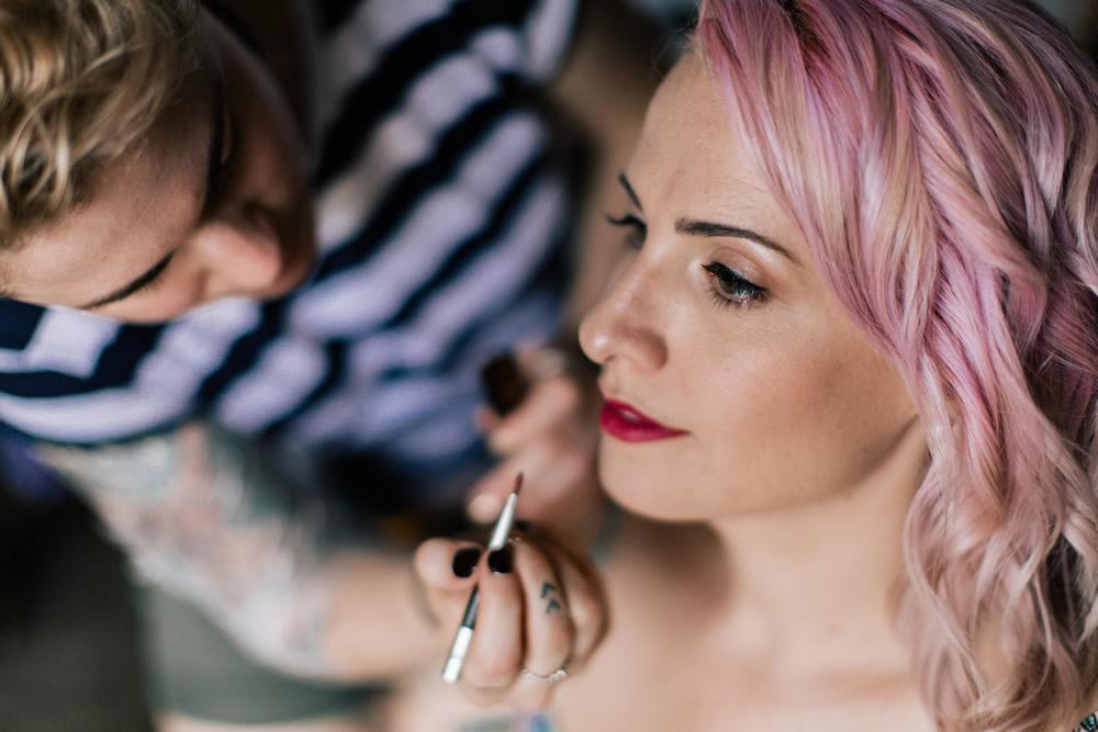Kate Drayton for wedding Hair & makeup in Wanaka